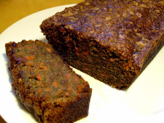 Carrot Bread Healthy  Recipe For Carrot Zucchini Bread