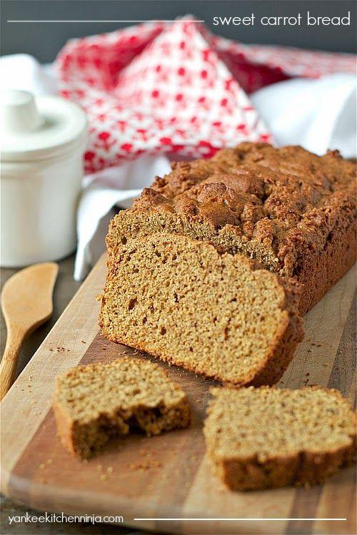 Carrot Bread Recipe Healthy  Best 25 Carrot bread recipe ideas on Pinterest