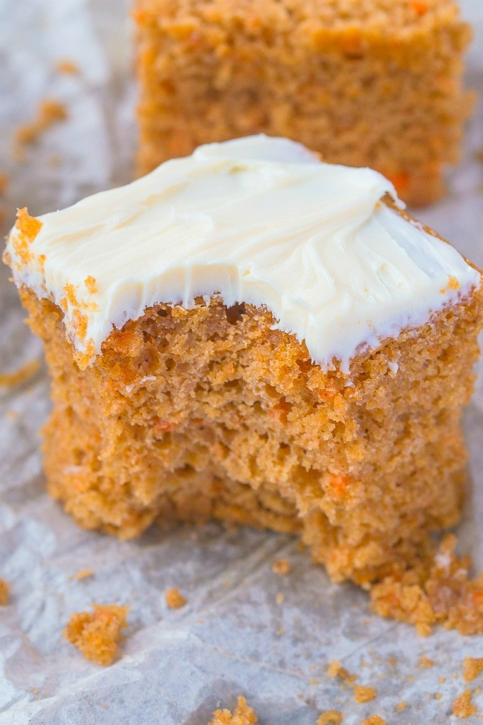 Carrot Cake Healthy  carrot cake with butter not oil