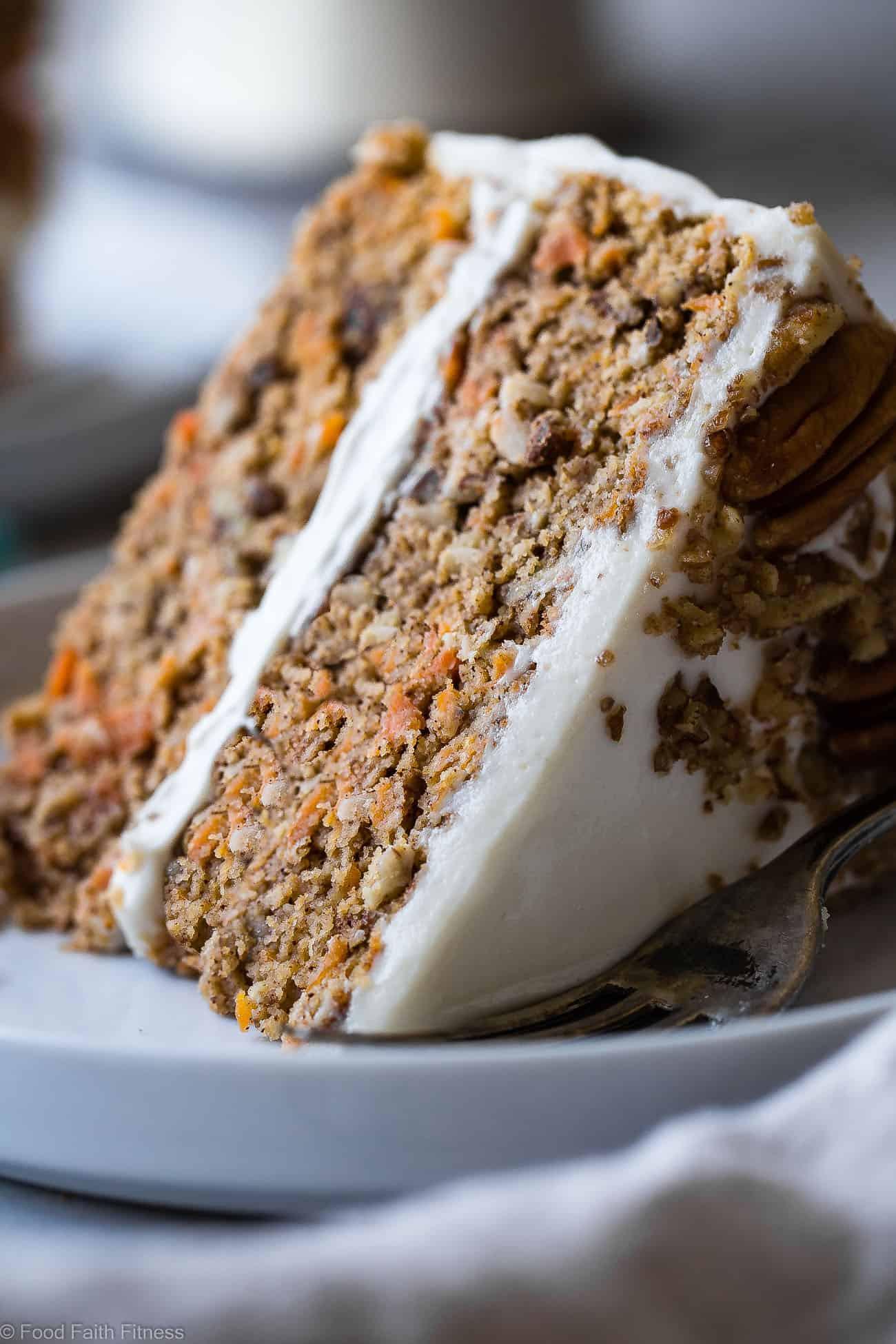 Carrot Cake Healthy  Healthy Gluten Free Sugar Free Carrot Cake