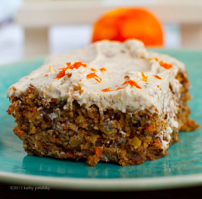Carrot Cake Healthy  Vegan Carrot Cake with Cream Cheese Frosting Healthy Dessert