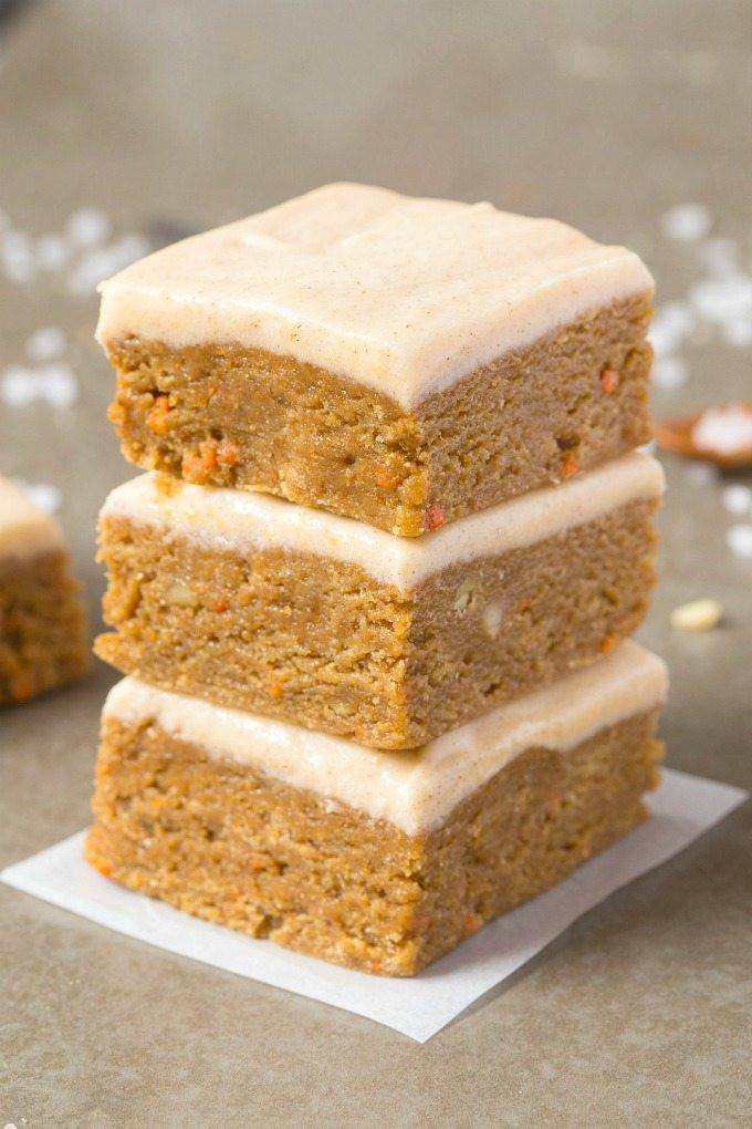 Carrot Cake Healthy  Healthy No Bake Carrot Cake Breakfast Bars