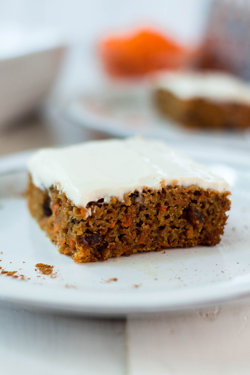 Carrot Cake Healthy  Healthy Carrot Cake Recipe