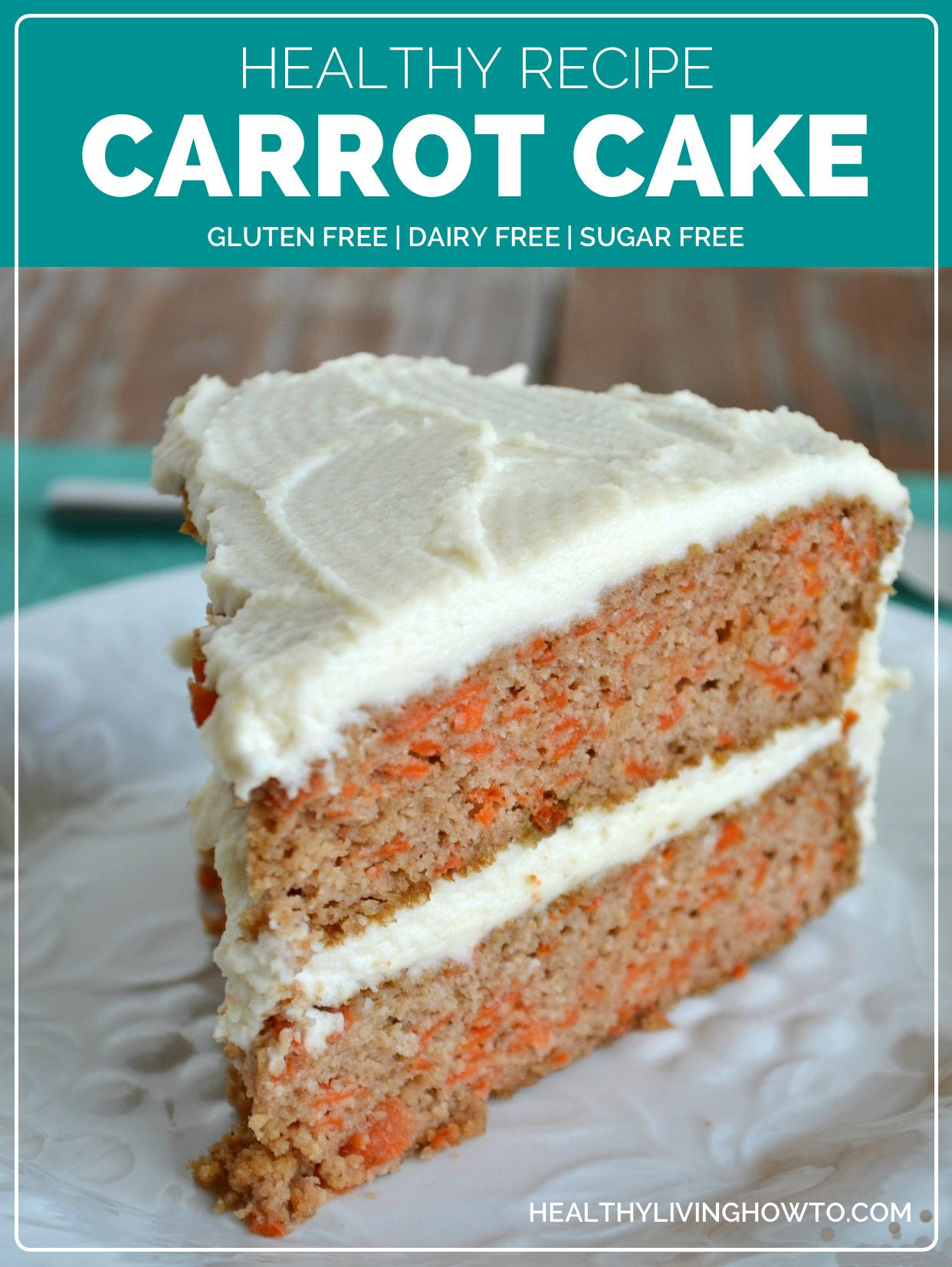 Carrot Cake Healthy  Healthy Carrot Cake