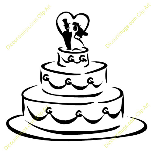 Cartoon Wedding Cakes  Free Cartoon Wedding Cake Download Free Clip Art Free