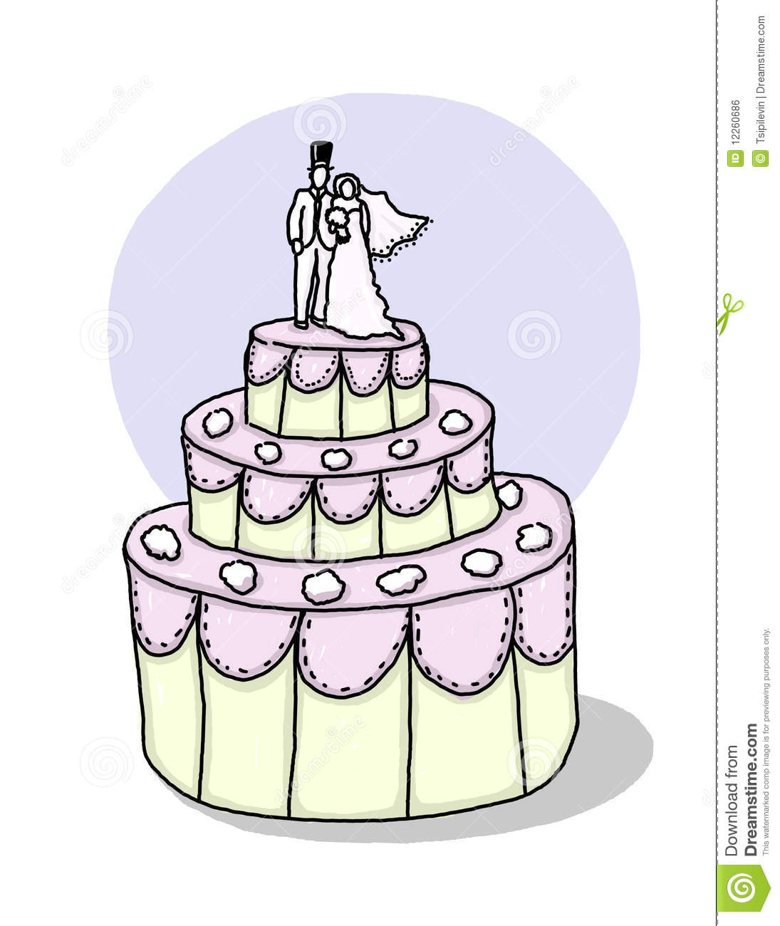 Cartoon Wedding Cakes  Cartoon wedding cake idea in 2017