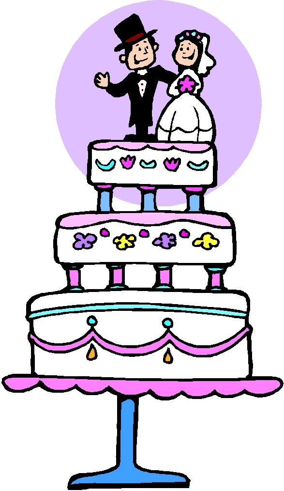 Cartoon Wedding Cakes  Wedding Cake Cartoon