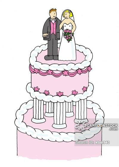 Cartoon Wedding Cakes  Wedding Cake Cartoons and ics funny pictures from