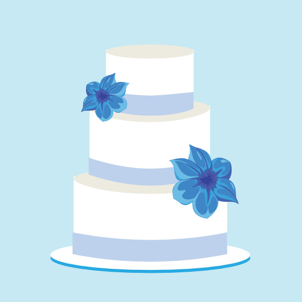 Cartoon Wedding Cakes  Wedding Cake Clip Art Clip Art at Clker vector clip