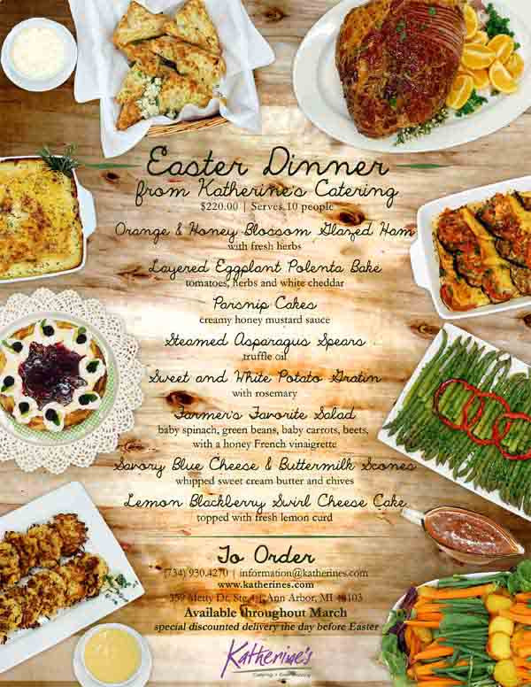 Catered Easter Dinner  Food – Page 3 – Katherine s Catering