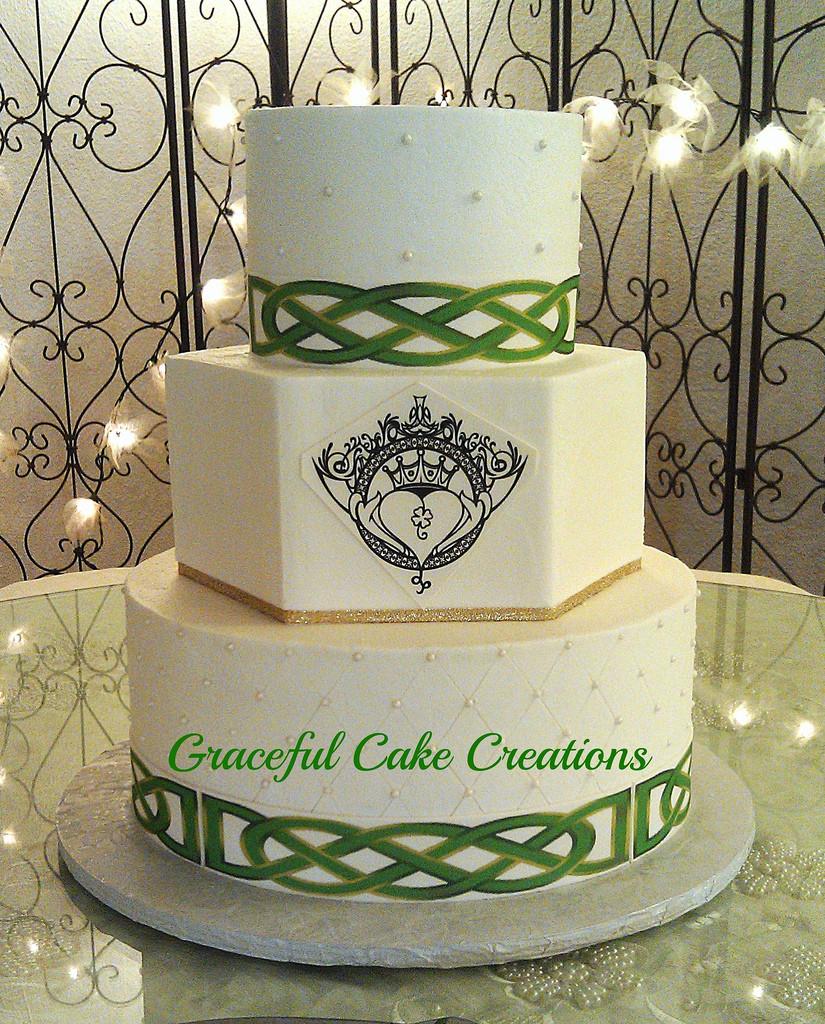 Celtic Wedding Cakes  Irish Wedding Cake a photo on Flickriver