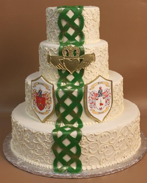 Celtic Wedding Cakes  Irish Wedding Cake Cakes