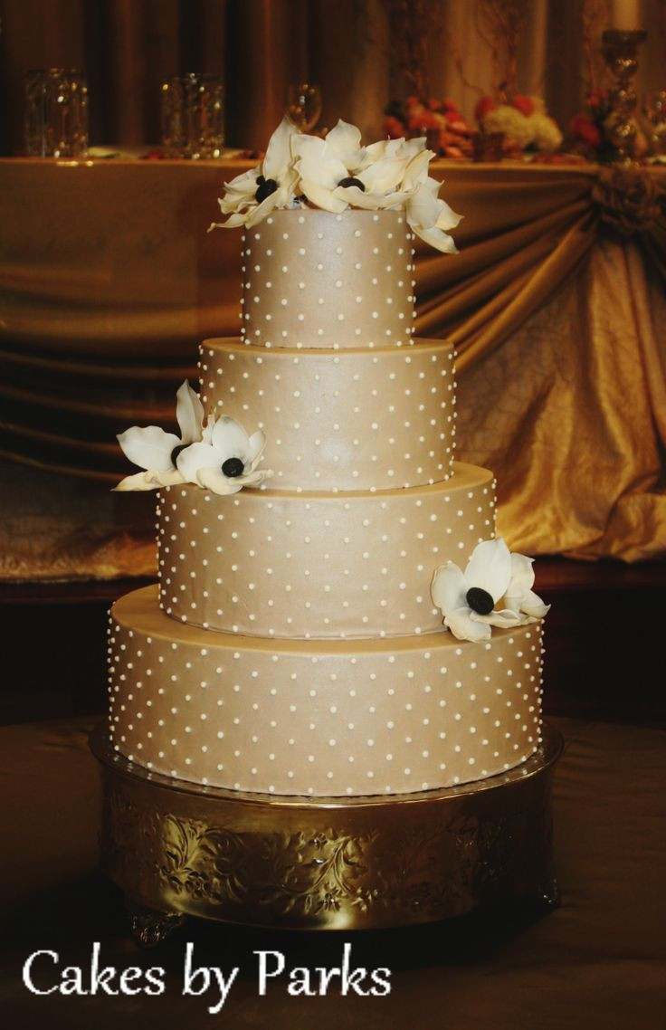 Champagne Color Wedding Cakes  25 best ideas about Champagne wedding cakes on Pinterest