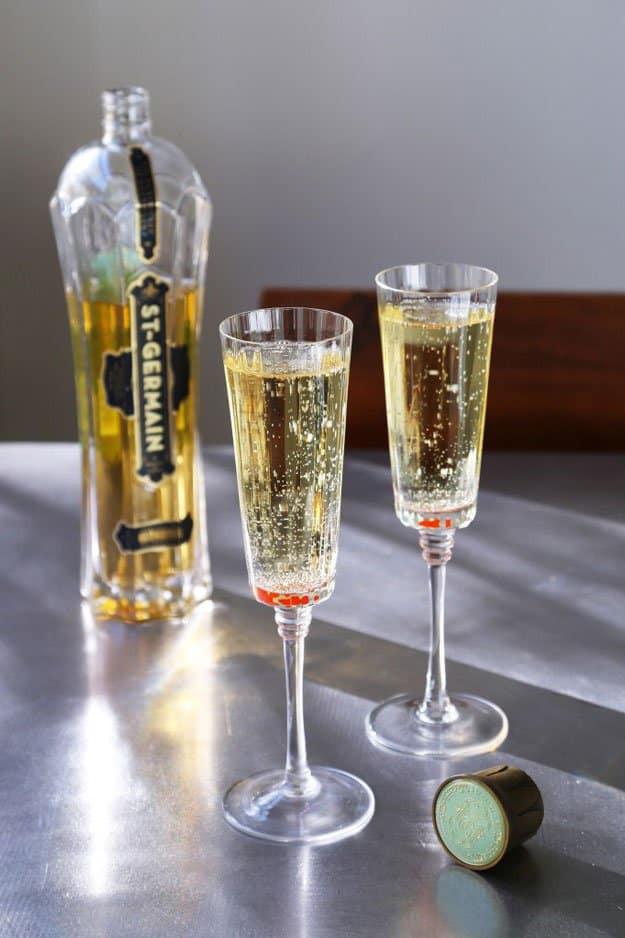 Champagne Drinks For Summer  17 Elderflower Liqueur Recipes And Cocktails For Spring