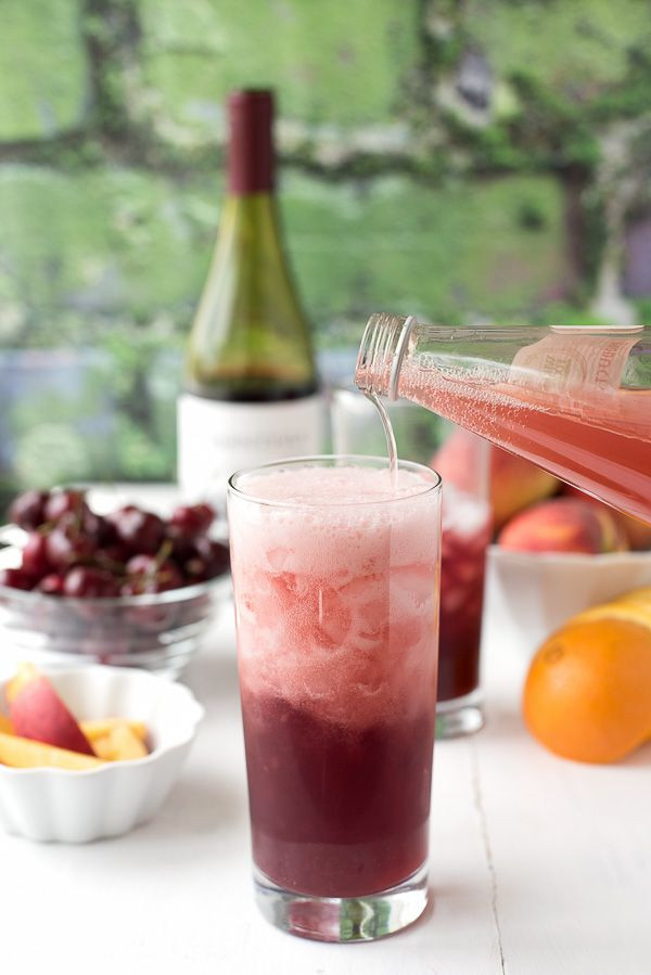Champagne Drinks For Summer  Summer Solstice Wine Cocktail Recipe