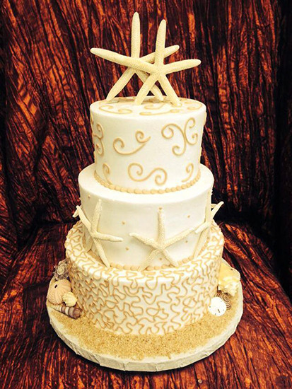 Chantilly Wedding Cakes  Beach Wedding Cakes Clearwater FL Chantilly Cakes Bakery