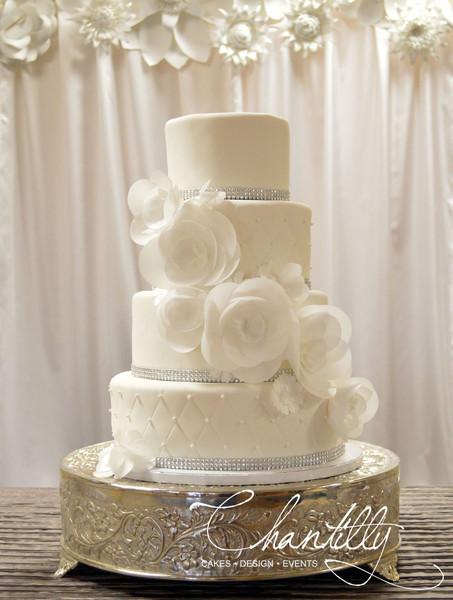 Chantilly Wedding Cakes  Chantilly El Paso TX Wedding Cake