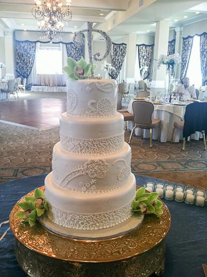 Chantilly Wedding Cakes  Custom Wedding Cake Bakery Clearwater FL Chantilly Cakes