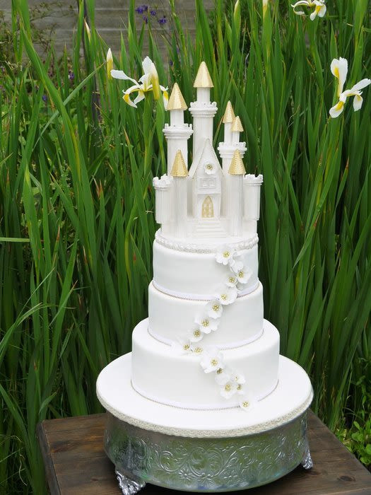 Charlotte Wedding Cakes  Charlotte wedding cake cake by Scrummy Mummy s Cakes