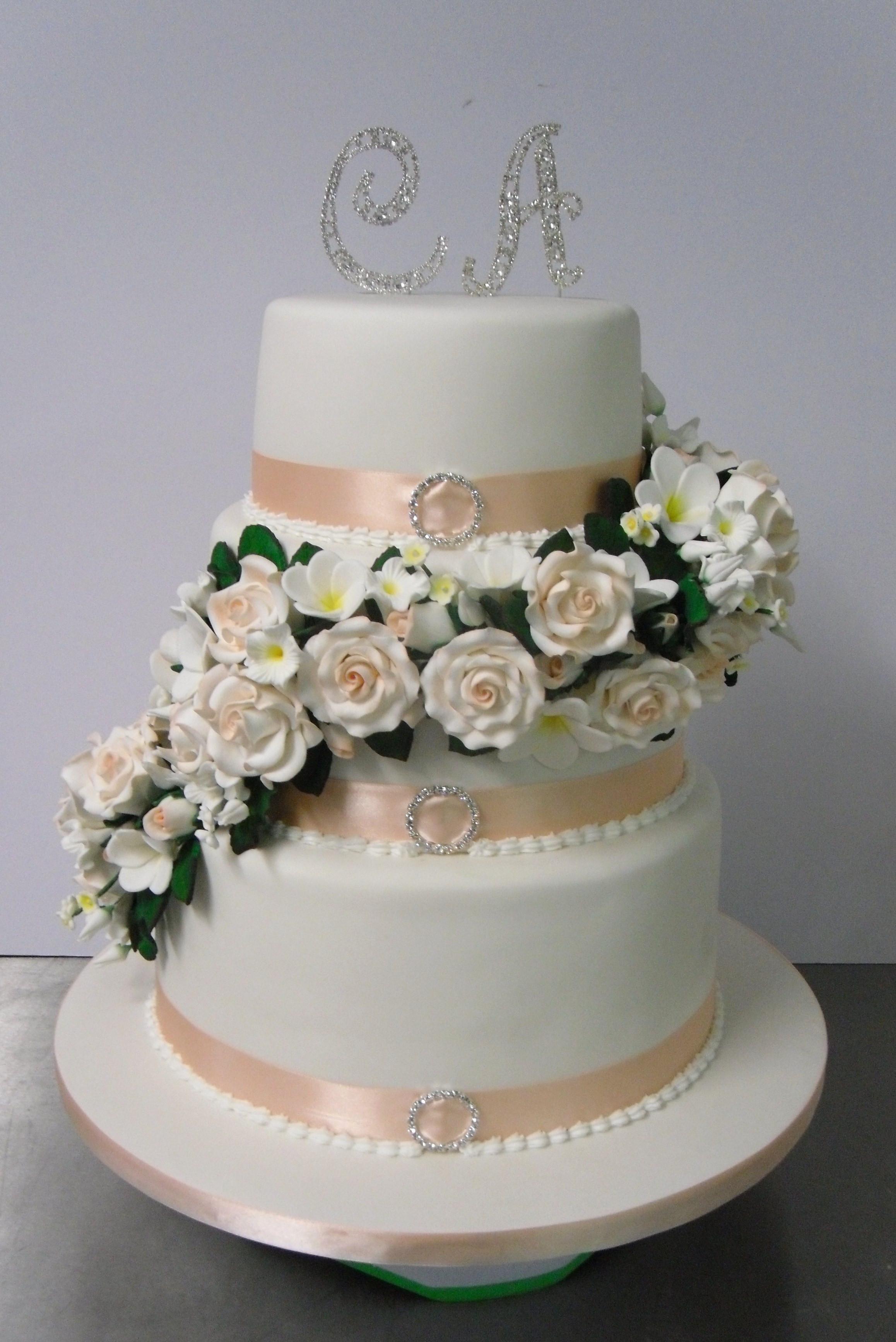 Charlotte Wedding Cakes  Charlotte Wedding cake Annette s Heavenly Cakes