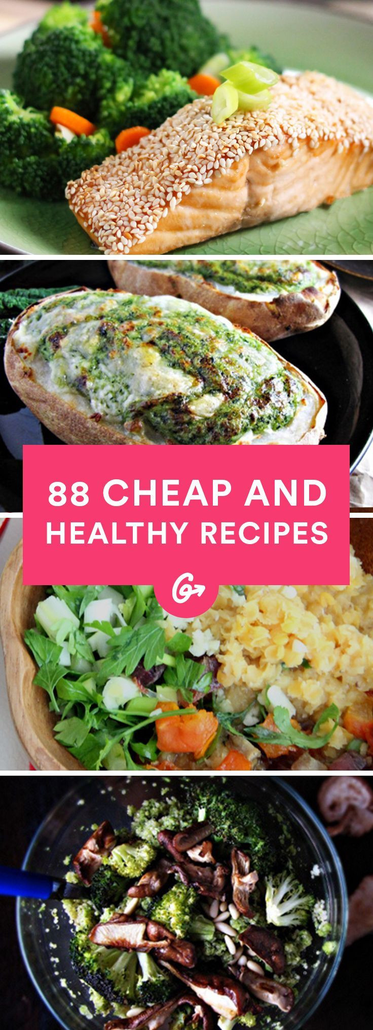 Cheap And Healthy Lunches  88 Cheap and Healthy Lunch and Dinner Recipes