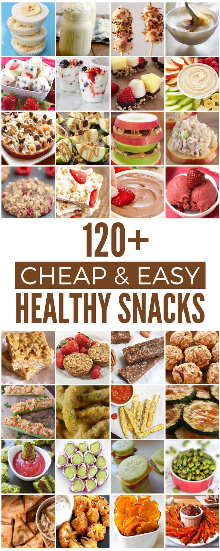Cheap And Healthy Snacks  The 25 best Healthy snacks ideas on Pinterest