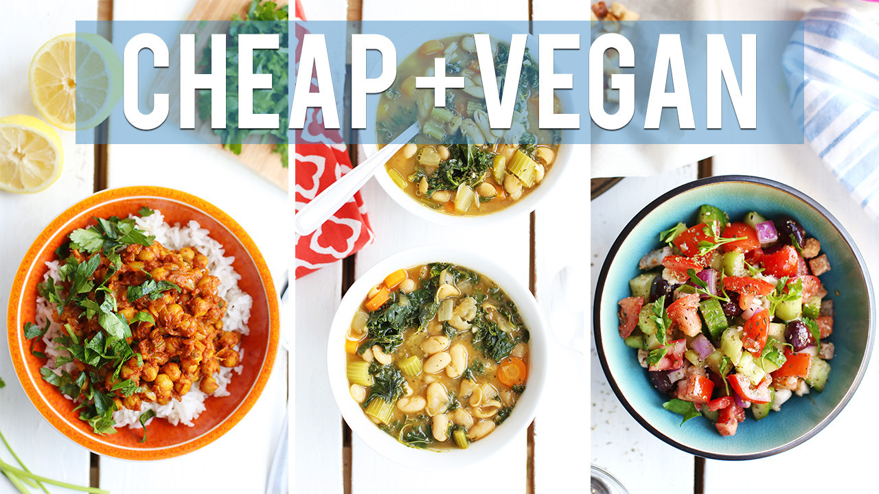 Cheap Easy Healthy Lunches  3 Vegan Lunch Ideas Under $1 50 Fablunch