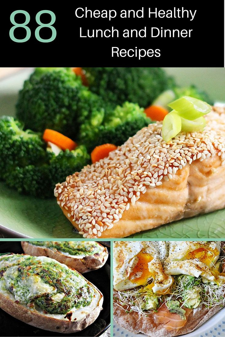 Cheap Easy Healthy Lunches  Cheap and healthy recipe collections healthy recipes