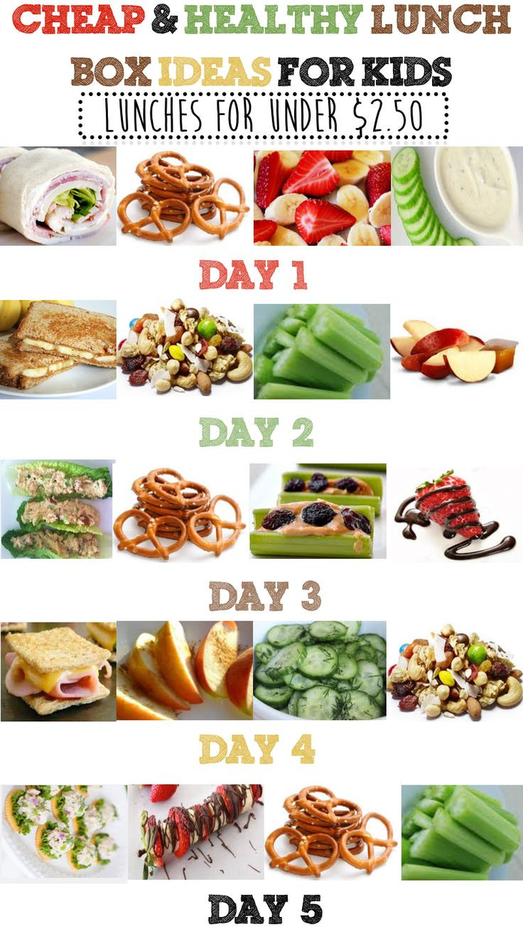 Cheap Easy Healthy Lunches  cheap lunches to take to work