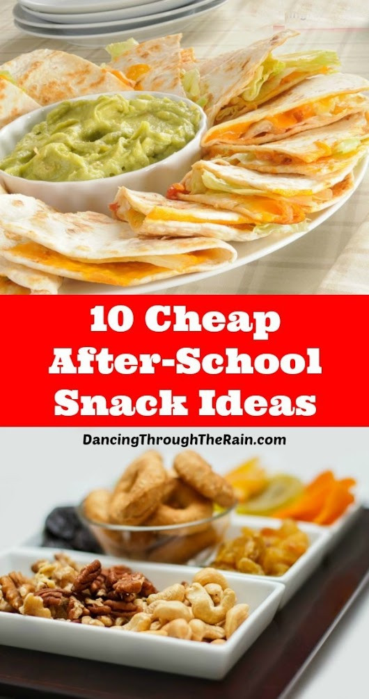 Cheap Easy Healthy Snacks  10 Cheap After School Snack Ideas Feeding the kids after
