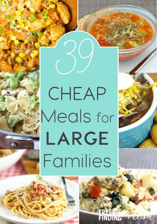 Cheap Easy Summer Dinners  39 Cheap Meals for Families