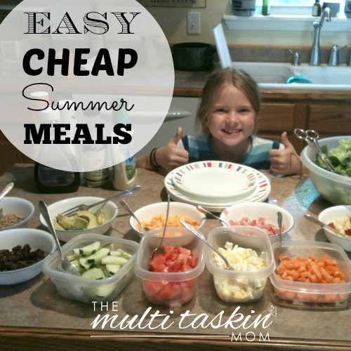 Cheap Easy Summer Dinners  Cheap and Easy Meals for Summer