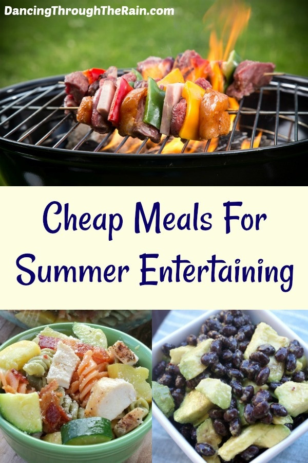 Cheap Easy Summer Dinners  Cheap Meals For Summer Entertaining