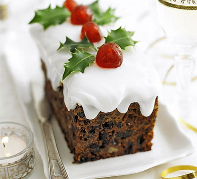 Cheap Healthy Desserts  Dried Fruit Snowy Christmas Cake – Cheap Easy & Healthy