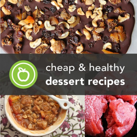 Cheap Healthy Desserts  152 Cheap and Healthy Dessert Recipes