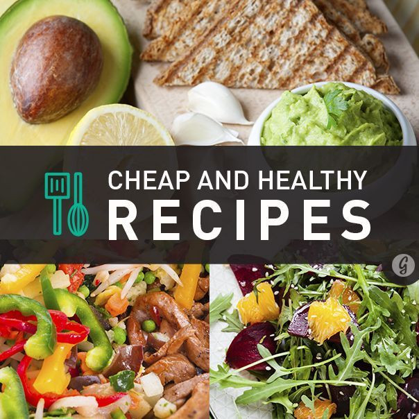 Cheap Healthy Dinner Recipes  17 Best images about Nutritious & Delicious Salads on