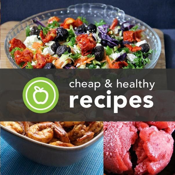 Cheap Healthy Dinner Recipes  7 best Meals for the week images on Pinterest