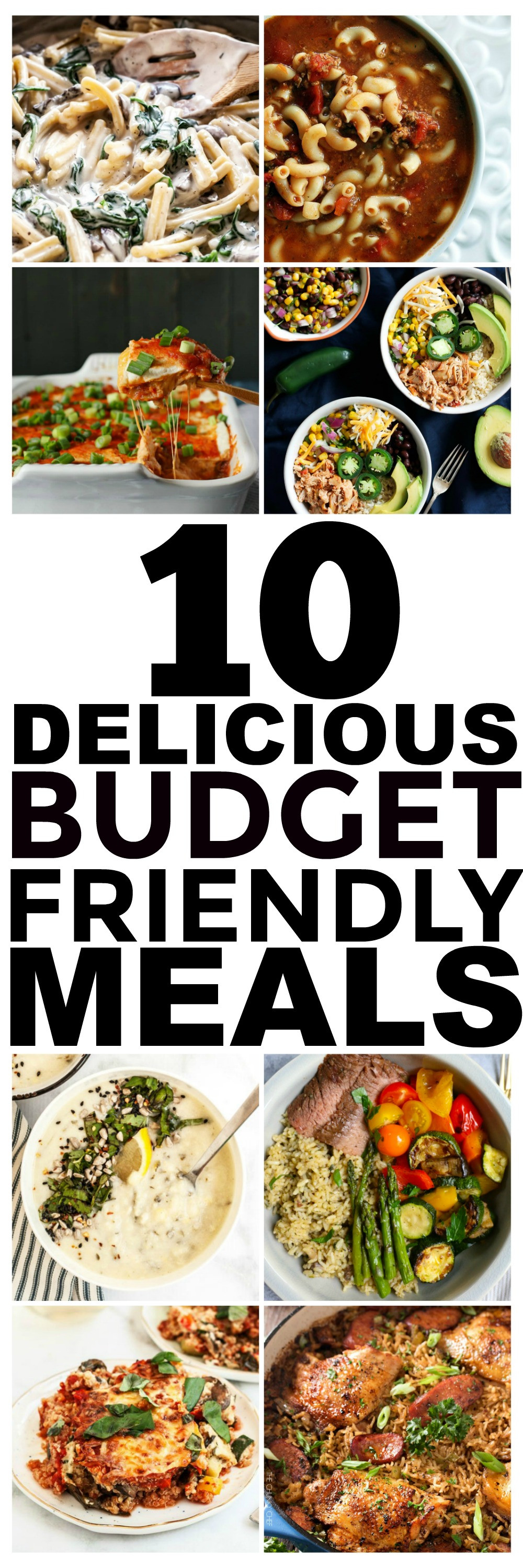 Cheap Healthy Dinner Recipes  10 Bud Recipes and Cheap Easy Meals You Should Try