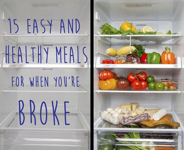 Cheap Healthy Dinners For Two  15 Easy And Healthy Meals For When You re pletely Broke