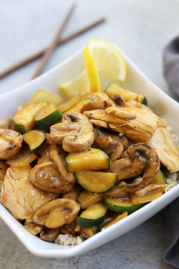Cheap Healthy Dinners For Two  Lemon Chicken Stir Fry The Fed Up Foo