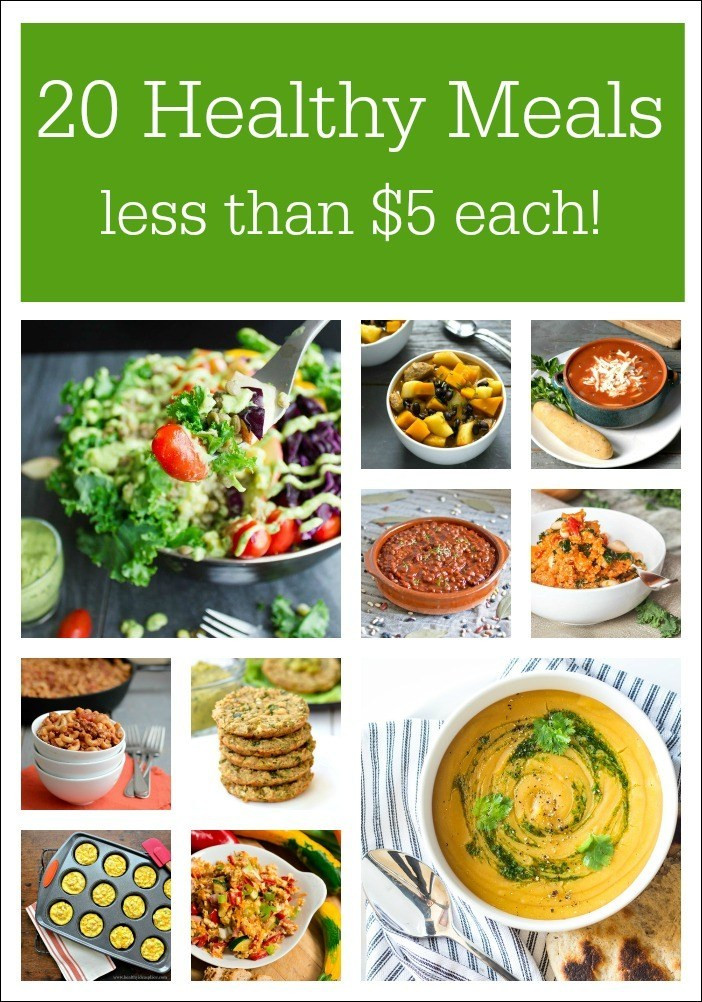 Cheap Healthy Dinners For Two  Healthy Meals on a Bud Real Food Real Deals