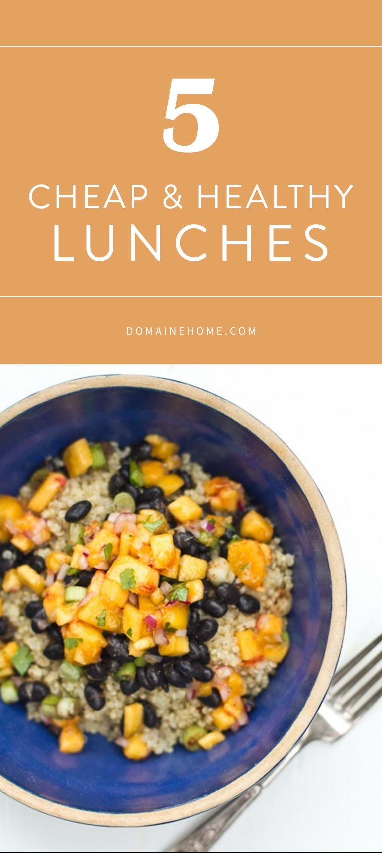 Cheap Healthy Lunches  5 Cheap Healthy Lunches You Can Bring to Work