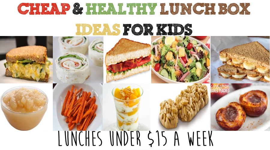 Cheap Healthy Lunches  Cheap & Healthy Lunch Box Ideas For Kids Week 2