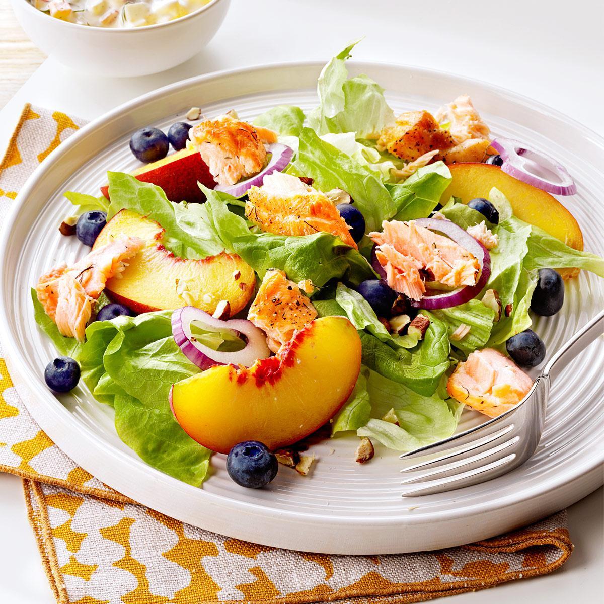 Cheap Healthy Salads  Northwest Salmon Salad Recipe