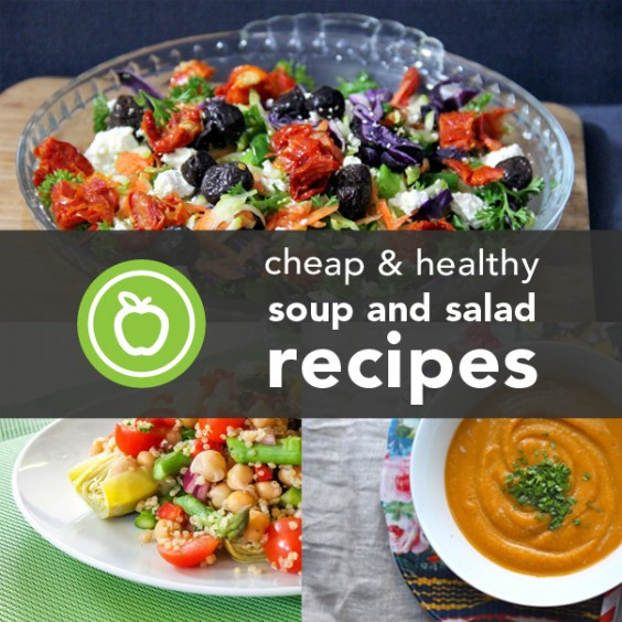 Cheap Healthy Salads  23 Cheap and Healthy Soup and Salad Recipes