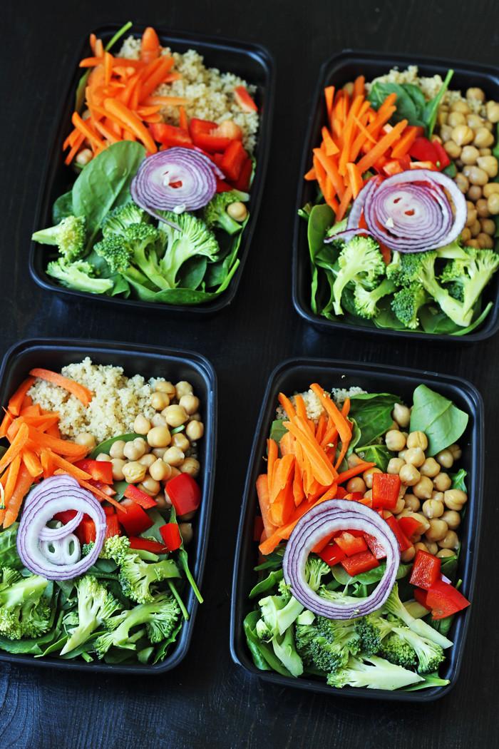 Cheap Healthy Salads  Quinoa Ve able Salad Good Cheap Eats