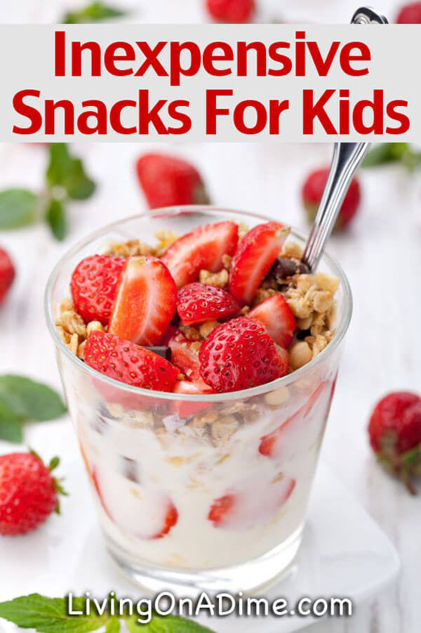 Cheap Healthy Snacks  Cheap Quick And Easy Snacks For Kids Snacks The Go