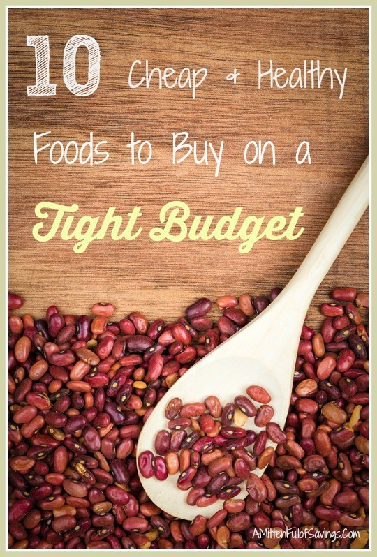 Cheap Healthy Snacks To Buy  10 Cheap & Healthy Foods To Buy on a Tight Bud A