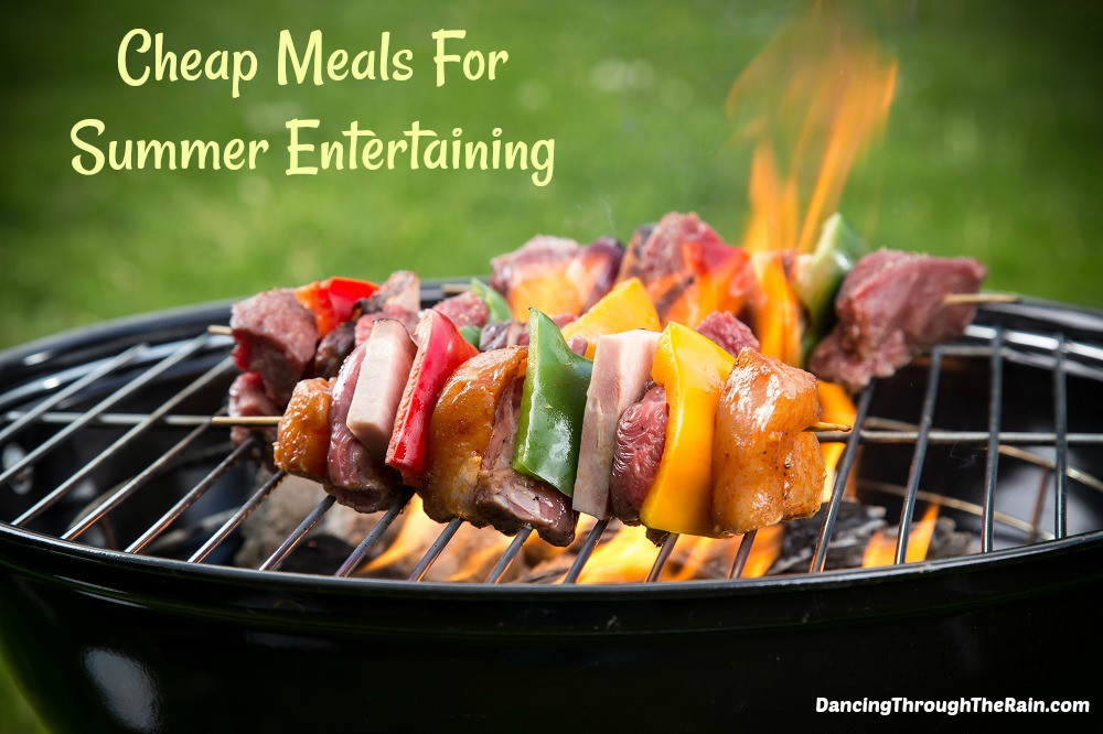 Cheap Summer Dinners  Cheap Meals For Summer Entertaining
