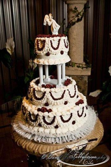 Cheap Wedding Cakes Utah  Fabbylicious Cakes Wedding Cake UT WeddingWire